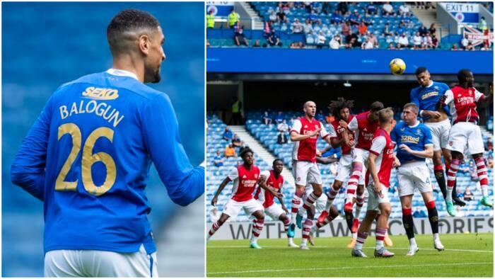 Super Eagles star scores as top European club force Arsenal to pre-season draw