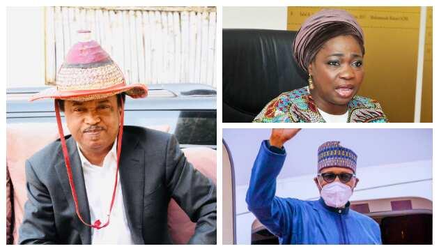 Revealed: Why I didn't Call Abike Dabiru-Erewa for Buhari's Safety in UK, Ex-senator