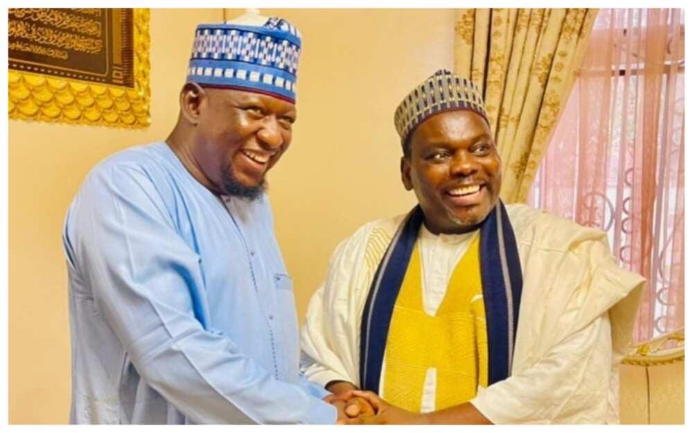 Sheikh Kabiru Gombe ya yafewa Muaz Magaji, sun gana ido da ido