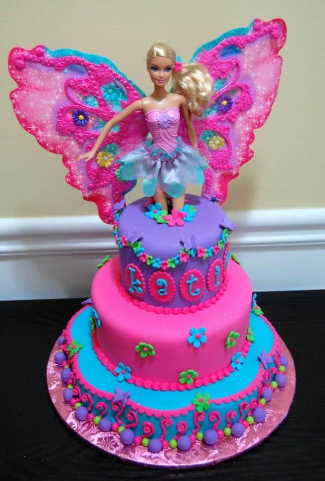 Beautiful Cakes For Girls