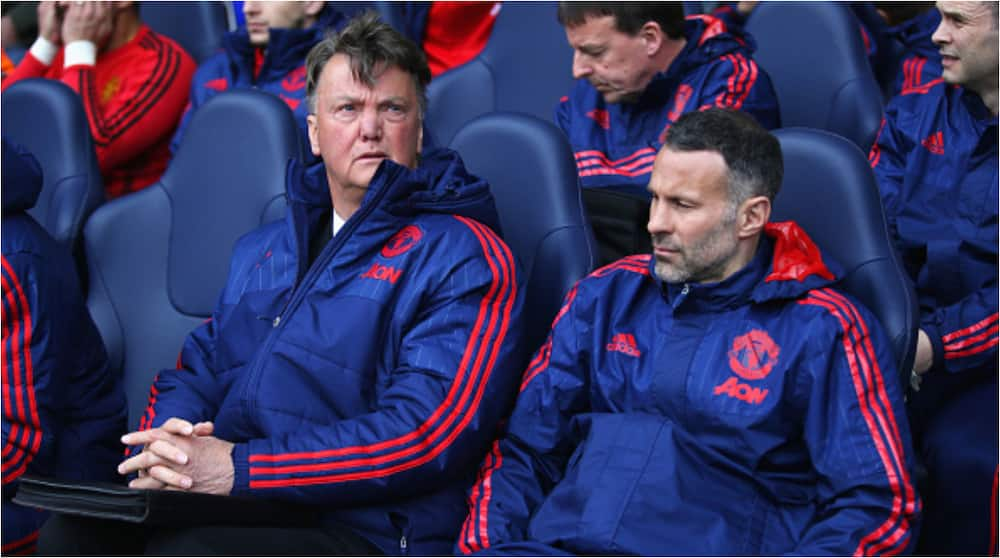 Ryan Giggs: Manchester United legend claims Louis van Gaal punched him in first meeting