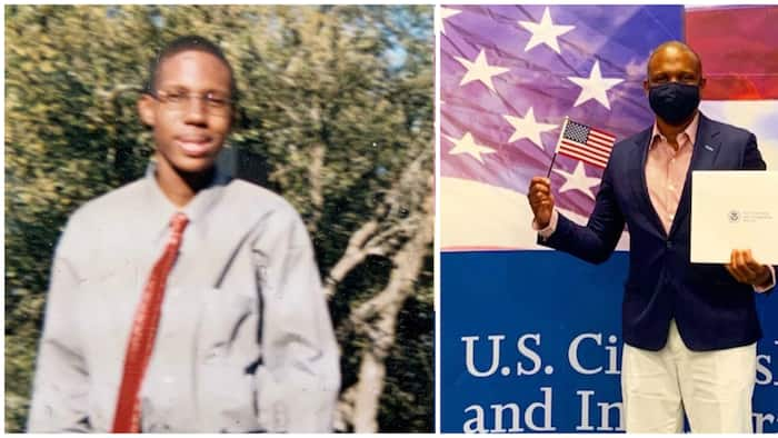 39-year-old man celebrates as he gets US citizenship after 21 years, shares adorable throwback photo