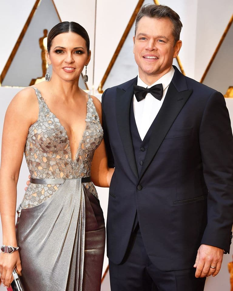 Luciana Barroso bio: who is Matt Damon's wife? Legit.ng