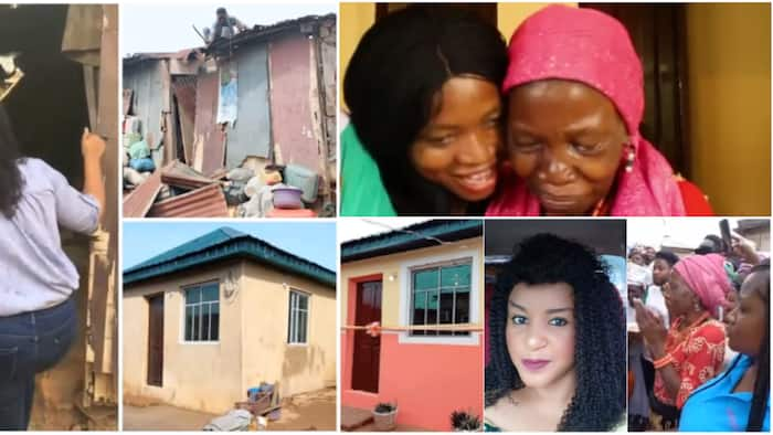 Nigerian female pastor builds house for 72-year-old widow abandoned by son, her heart of gold inspires many