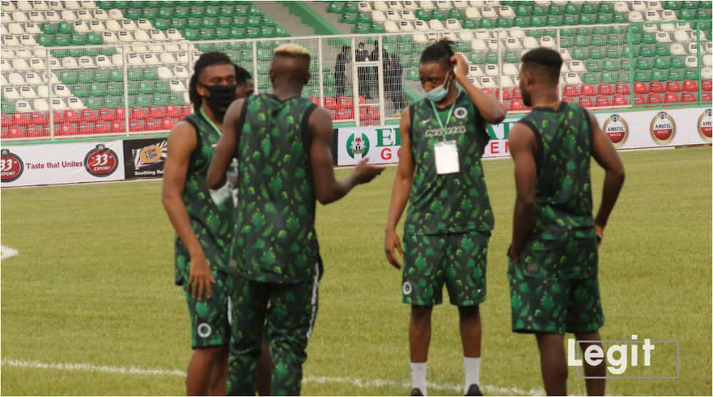 Leicester City forward put up impressive show in Super Eagles training ahead of Benin showdown