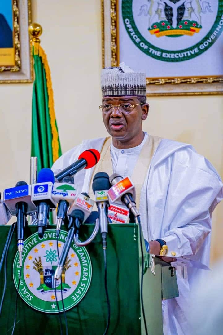 Governor Bello Matawalle set to defect from PDP to APC