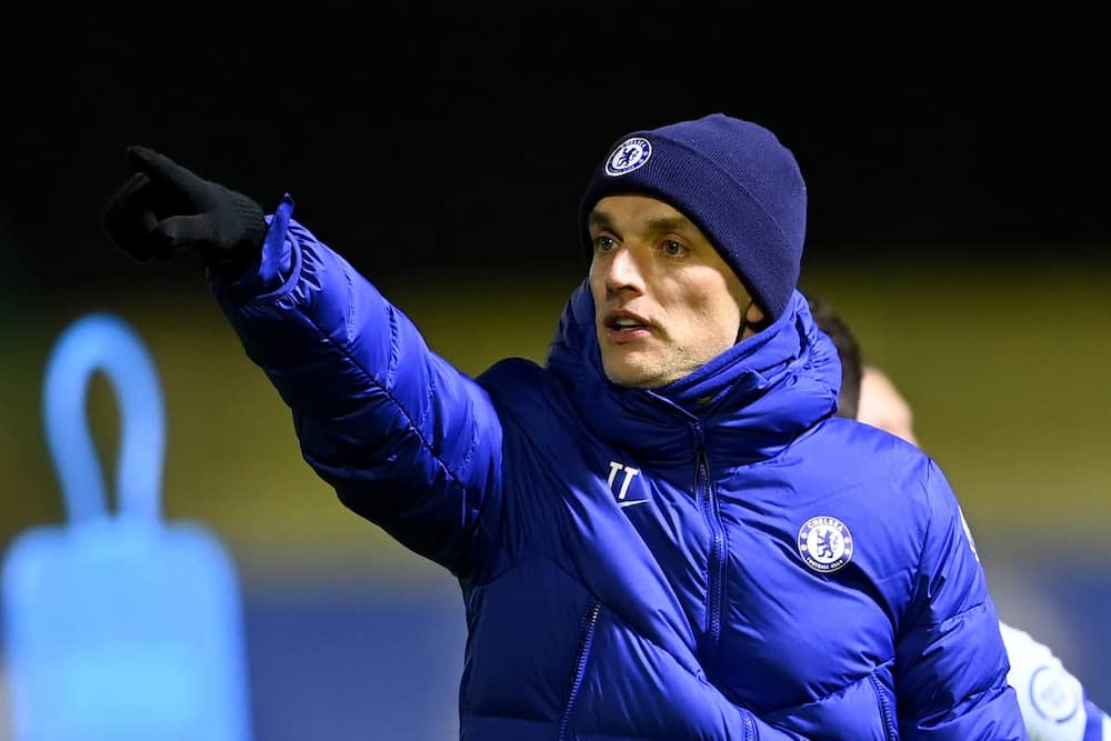Thomas Tuchel during a past match in charge of Chelsea. Photo: Getty Images.