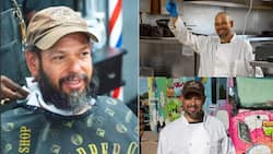 Homeless man who lived in a van surprised with a N16m food truck by strangers, they also bought him clothes