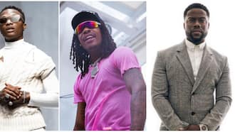 Wizkid to the world: American stars Wizkhalifa, Kevin Hart attend singer's show in Los Angeles