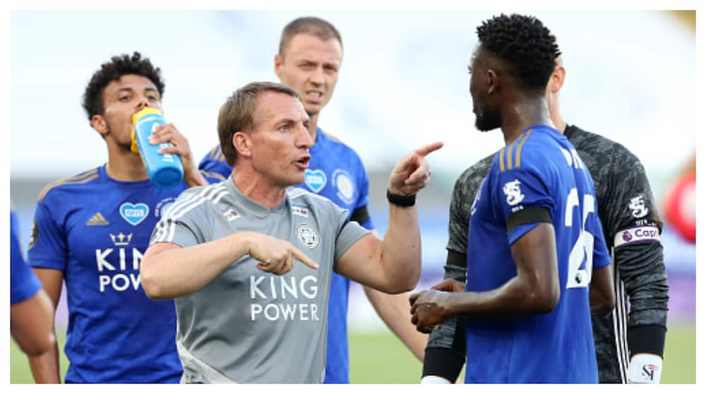 Wilfred Ndidi: Rodgers confirms midfielder will be out for 12 weeks