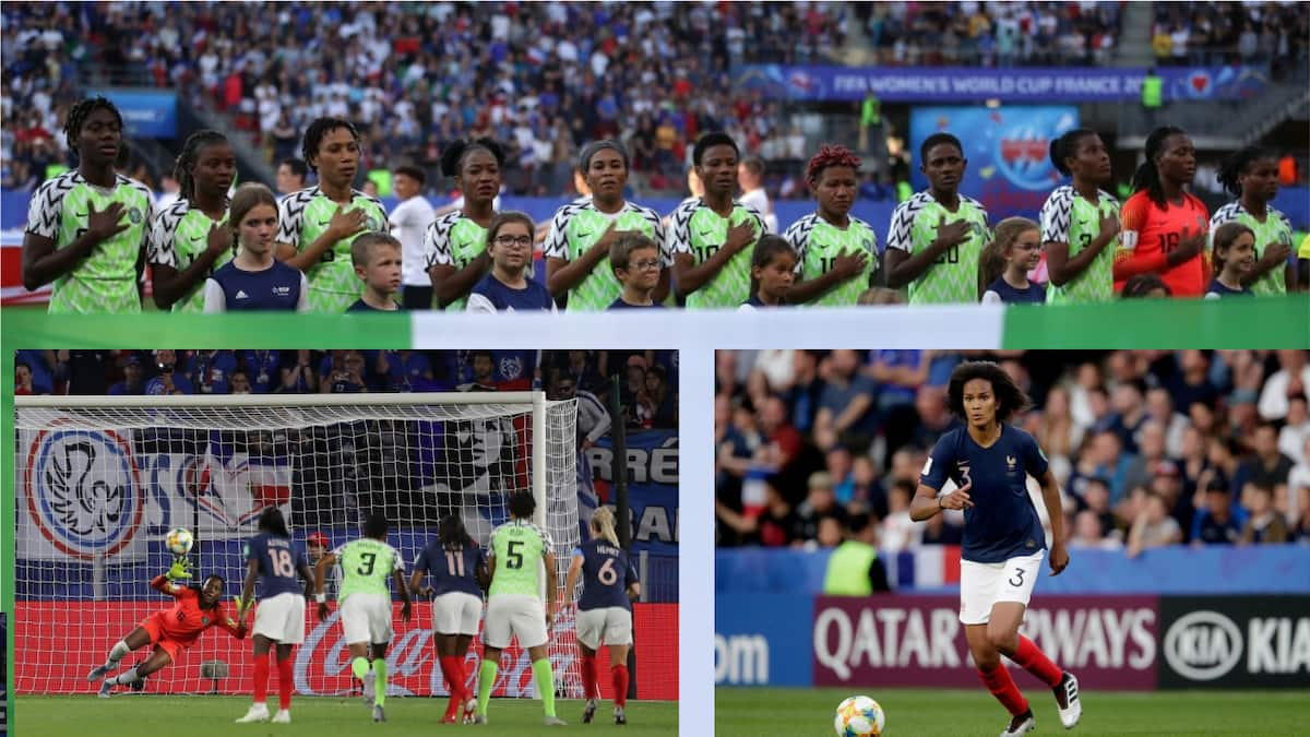 France's Les Bleues pip Nigeria's Super Falcons in a tough FIFA Women's World Cup clash
