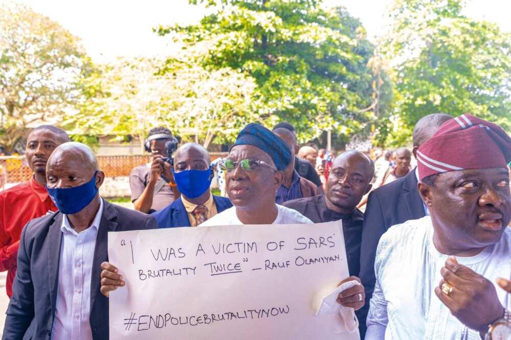EndSARS: Oyo deputy governor says he has been a victim twice