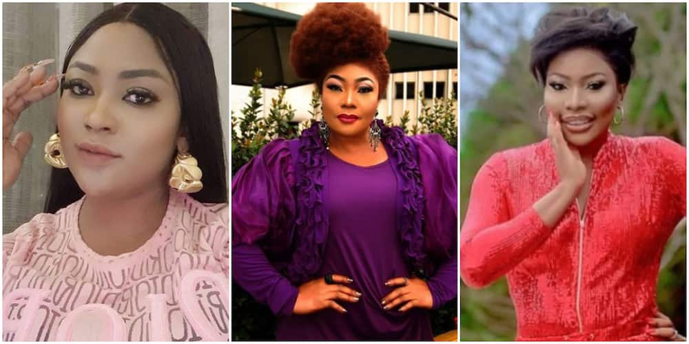 Veteran actress Eucharia blasts colleague Doris Ogala for claiming Uche Elendu lied about her store being vandalised