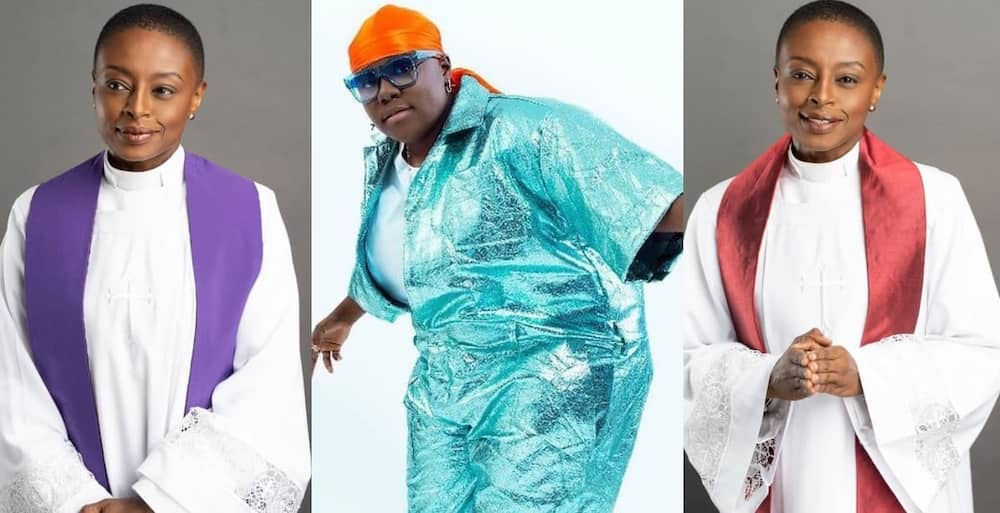Reverend Akua: Ghanaian Female Pastor Causes Massive Stir Online as 'Case' by Teni is Used in Worship song