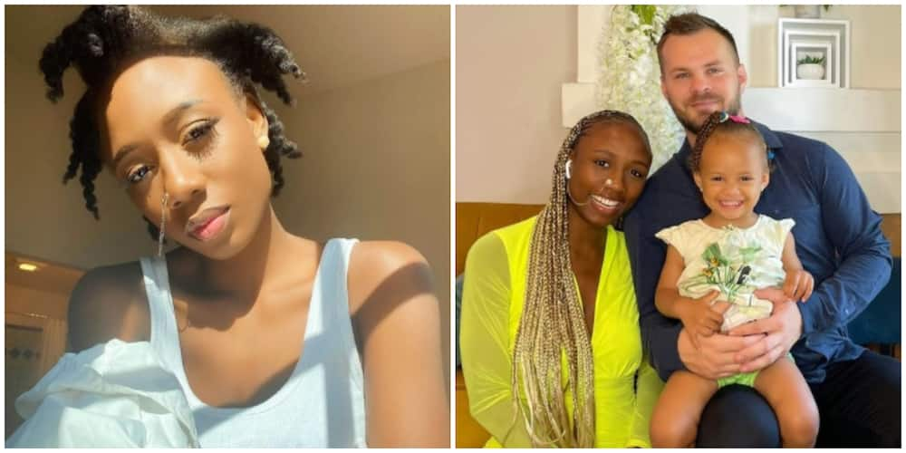 Photos of Korra Obidi and her family.