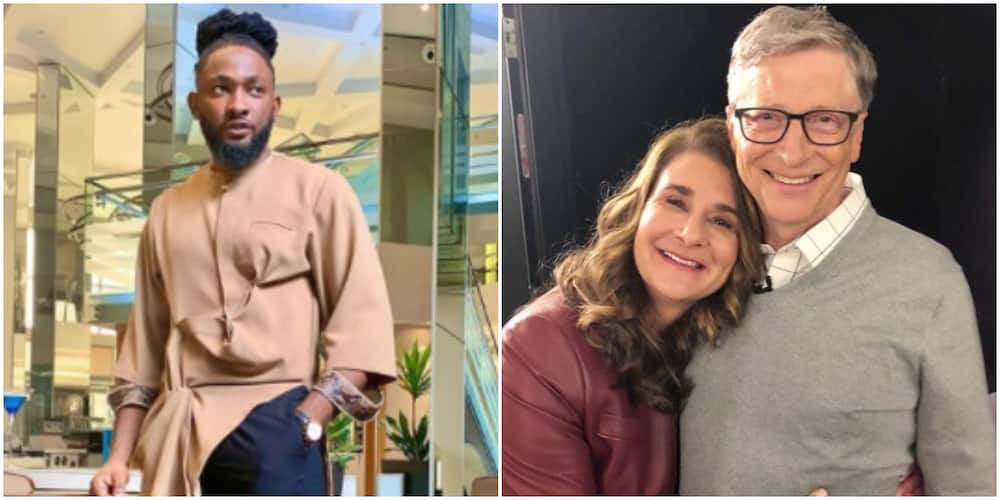 This Marriage Thing No Be Scam So? UTI Nwachukwu Reacts to Bill and Melinda Gates Divorce News