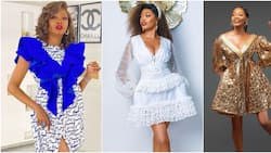 Fashion influencer: KieKie schools slim ladies on how to rock short dresses in these hot photos