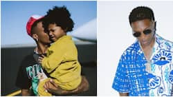 Watch heartmelting moment Wizkid's 3-year-old son Zion mimics his dad to perform for fans