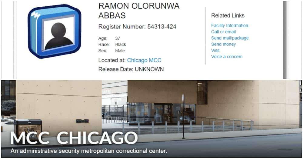 Check out the Chicago prison where alleged fraudster Hushpuppi is currently being held (photos)