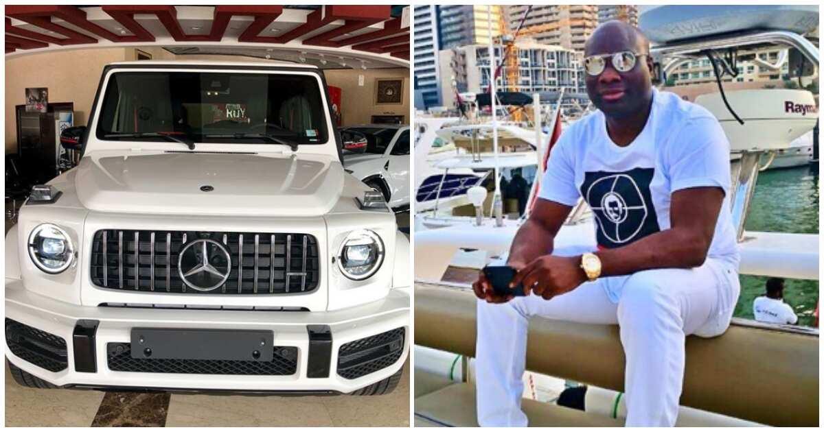 Instagram billionaire Mompha acquires N102m Mercedes G Wagon, 2019 edition