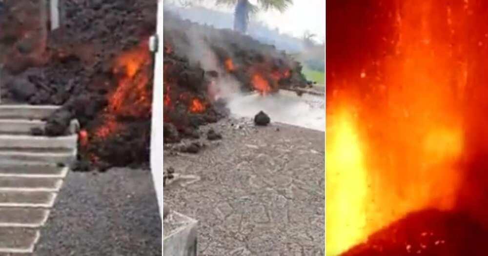 Videos, Emerge, Families, Hit, Raging, Volcano