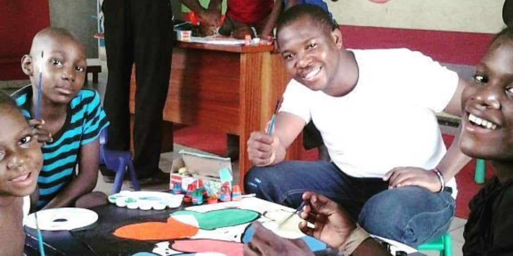 Kunle Adewale is passionate about what he does