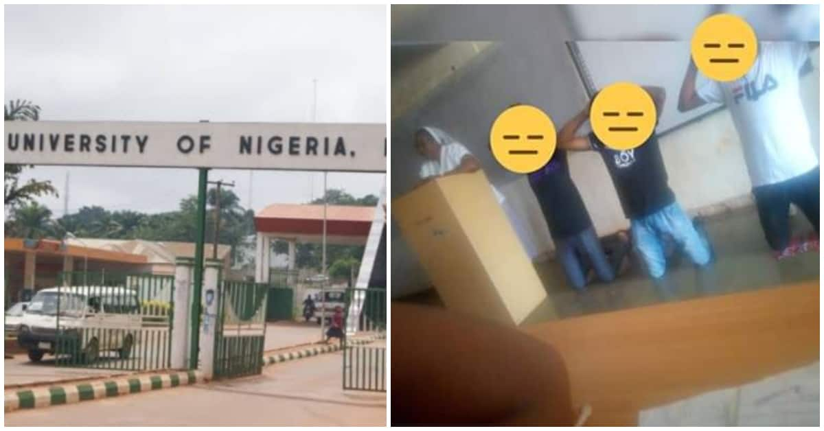 Female university lecturer reportedly tells students to kneel down for not sweeping lecture room