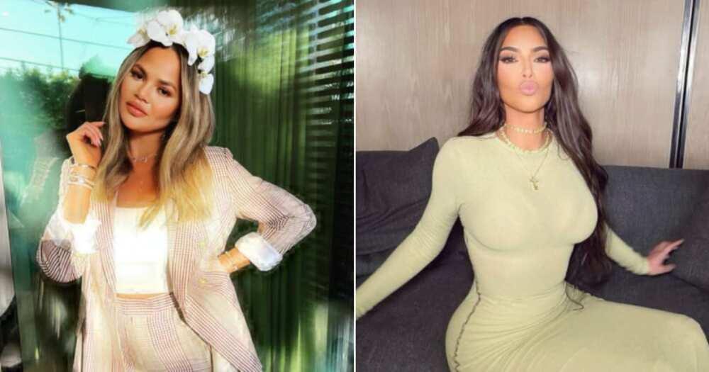 Chrissy Teigen believes Kim Kardashian West's divorce is the right move