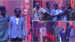 2baba and Blackface finally end long time beef in honour of Sound Sultan, perform together on stage