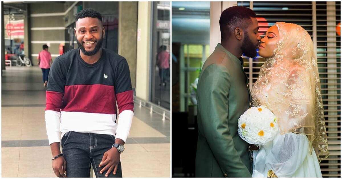 Nollywood actor Jide Awobona weds lover secretly ▷ Legit.ng