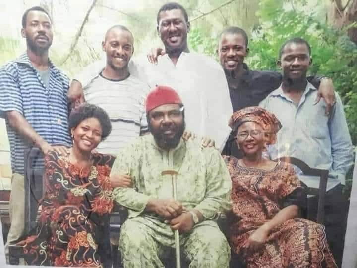 Pete Edochie family pictures