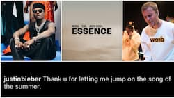 Justin Bieber thanks Nigerian singer Wizkid for being on Essence remix, calls it song of the summer