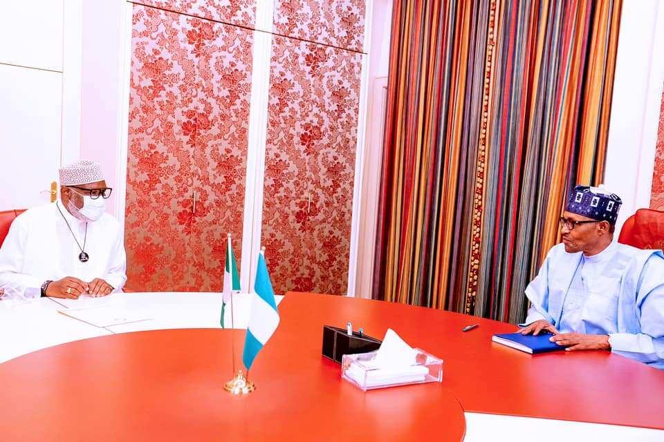 Buhari backs Akeredolu, asks governor to flush out criminals