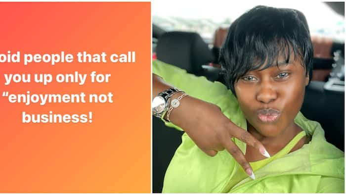 Actress Uche Jombo advises her fans to be careful of the kind of friends they have