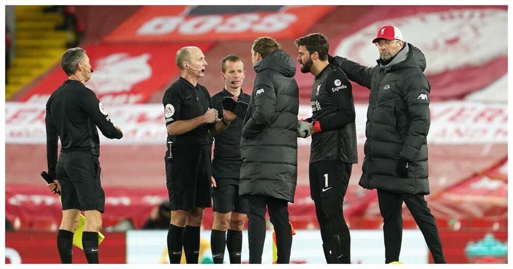 Jurgen Klopp, Sean Dyche in furious tunnel bust-up in Liverpool defeat