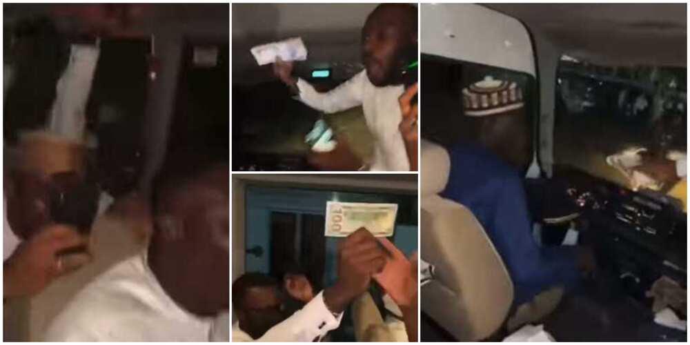 Abokan Ango Yusuf Buhari sun yiwa direban da ya tuka su kyautar N500,000