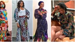 African Queen: 8 times actress Kate Henshaw looked stunning in traditional print