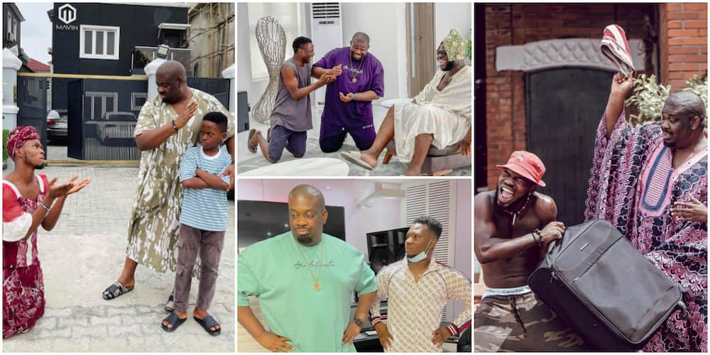 7 Times Don Jazzy Has Supported Rising Instagram Comedians by Featuring in Their Skits
