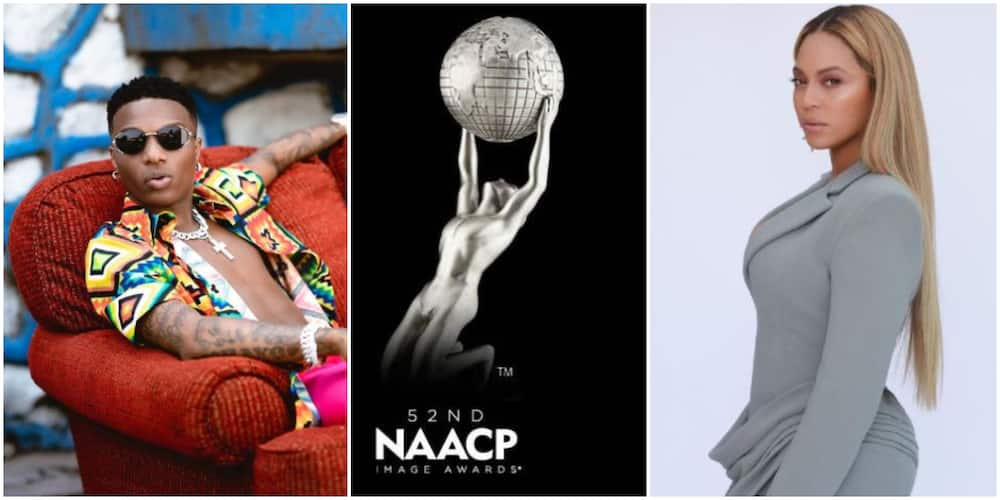 Another One in the Bag: Nigerians React as Wizkid, Beyonce, Win NAACP Award after Bagging Grammy