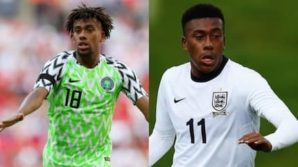 Revealed: The only national team Alex Iwobi played for before Nigeria