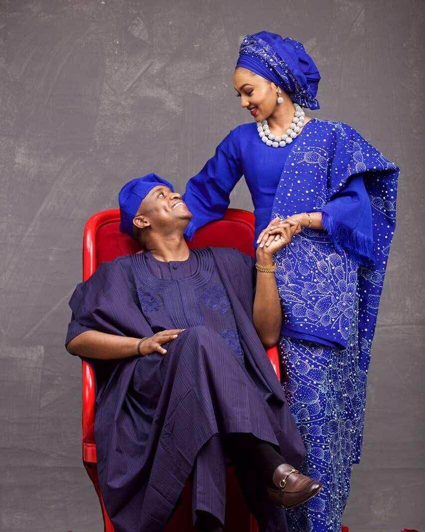 Zahra Buhari husband