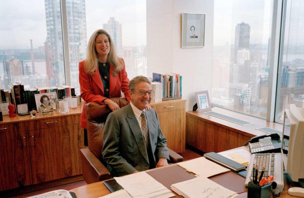 George Soros' wife