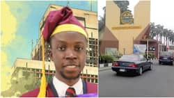 UNILAG celebrates its overall best graduating student with 4.98 CGPA, Nigerians react