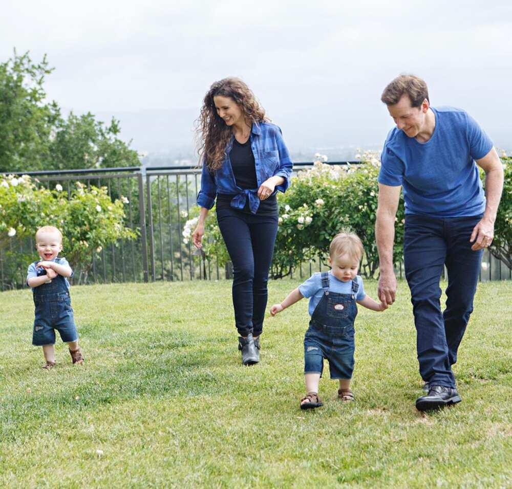Jeff Dunham family
