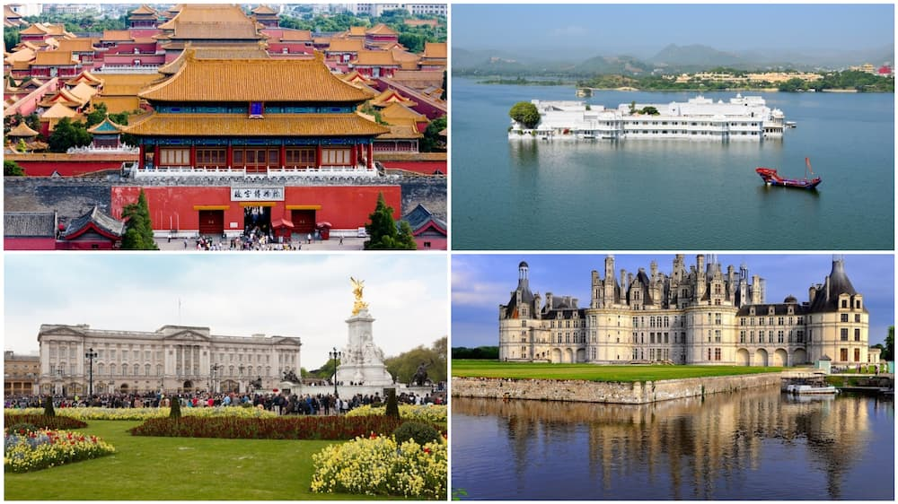 A collage of some of the palaces. Photo source: Touropia