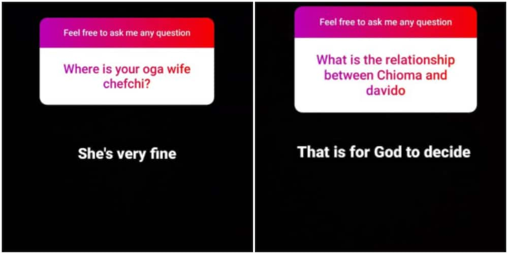 Isreal talks about Davido and Chioma's relationship