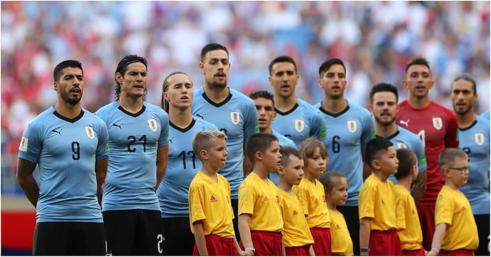 Uruguay players share scathing message to English FA after Edinson Cavani's three-game ban