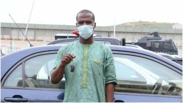 'Yan sanda sun yi ram da gagarumin barawon motoci na Abuja a Zamfara