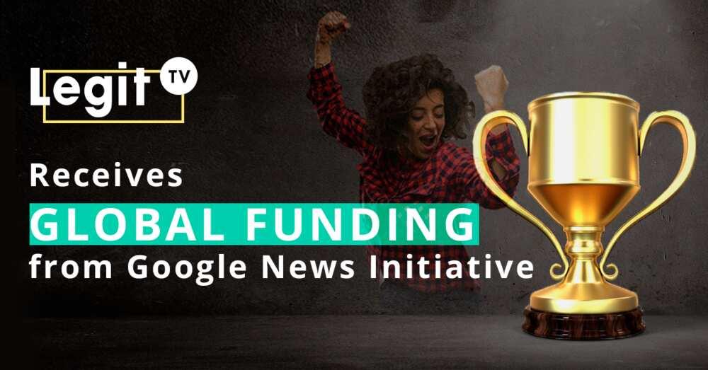 Legit TV receives global funding from Google News Initiative