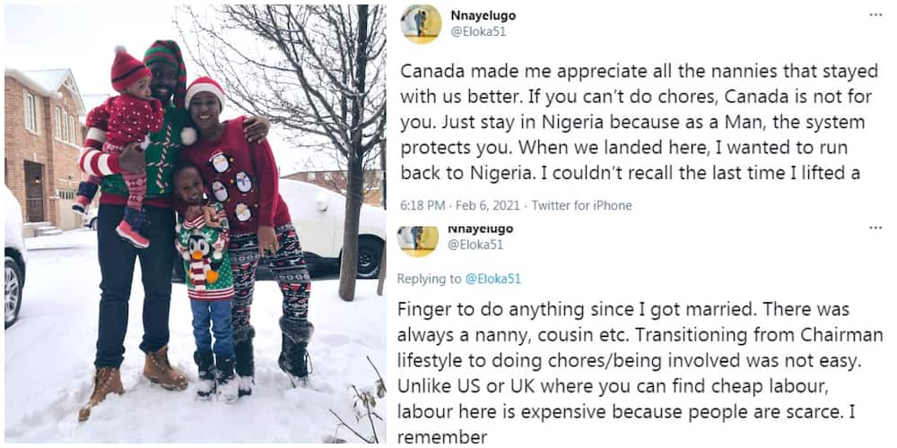 Nigeria man lists the Nigerians that cannot live in Canada, says he almost left Canada for Nigeria